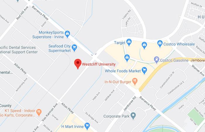 Westcliff Google Map