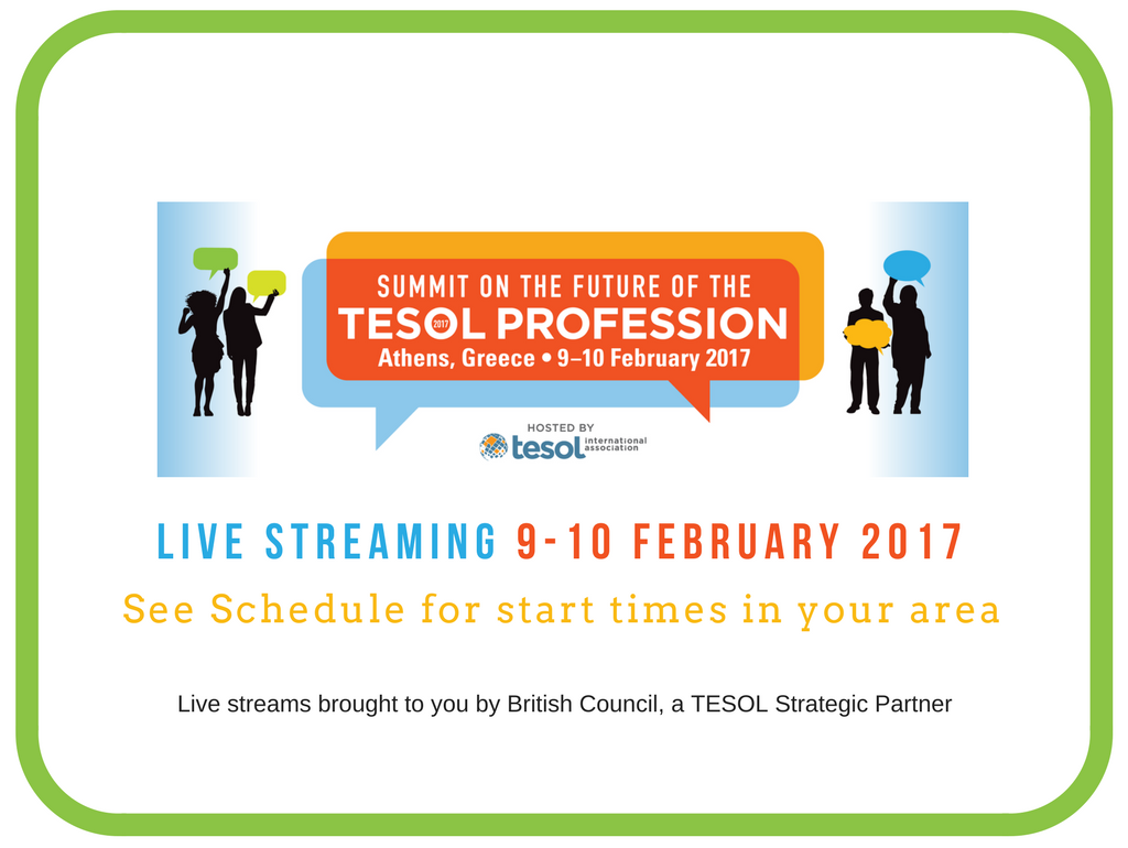 TESOL event in Greece on February 9-10, 2017