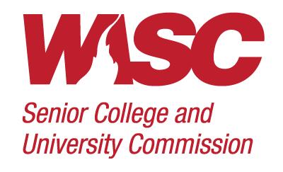 WSCUC logo