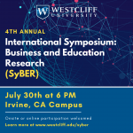 4th Annual International Symposium of Business and Education Research (SyBER)