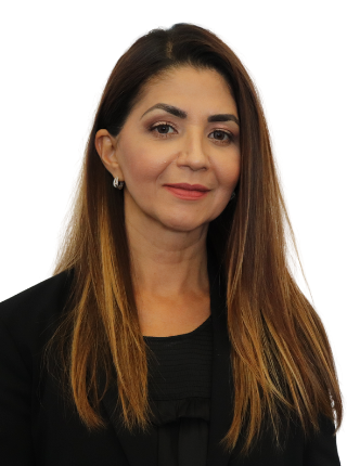 image of Maria Baschshi, Director of Admissions