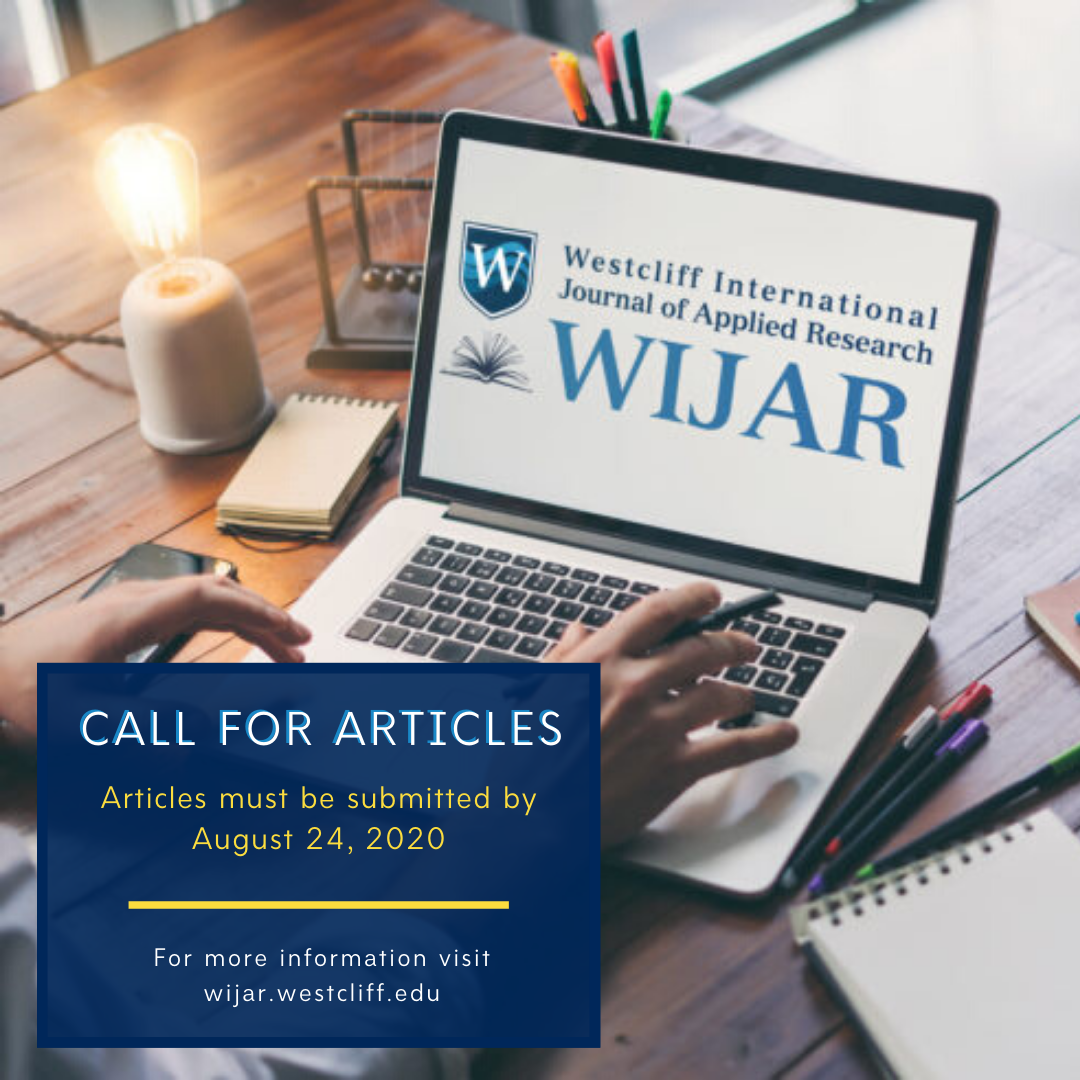 WIJAR call for articles submissions