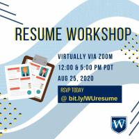 resume workshop westcliff career services events