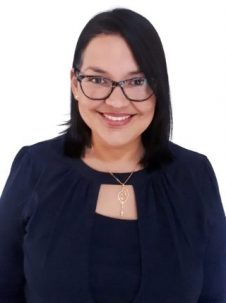 This is a photo of professor evelin suji ojeda from westcliff university