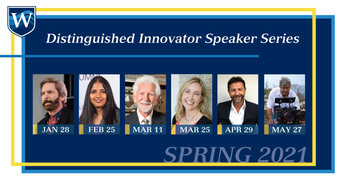 Distinguished Innovator Speaker Series – Spring 2021