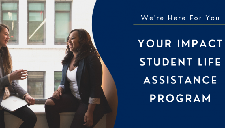 this is a banner image of a Westcliff University's Student Life Assistance Program graphic